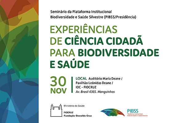 Experiências de Ciência Cidadã para Biodiversidade e Saúde