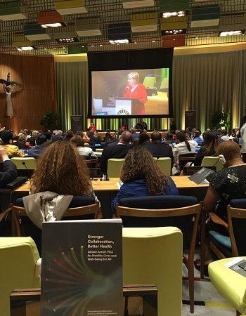 Plano Global de Ação para Vidas Saudáveis é lançado na ONU