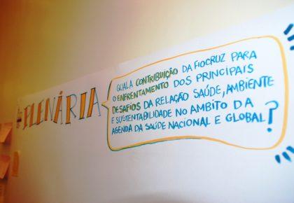 Encontro da Fiocruz sobre Diálogos e Caminhos em Saúde, Ambiente e Sustentabilidade
