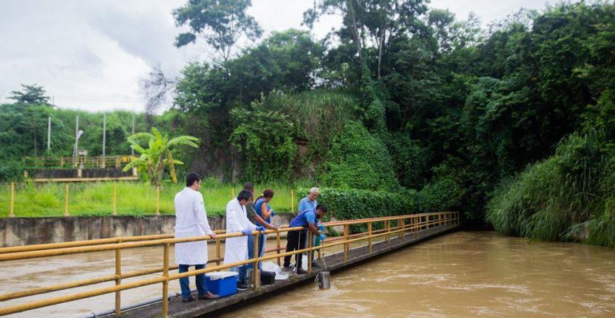 Fiocruz participa de vistoria na Estação do Guandu