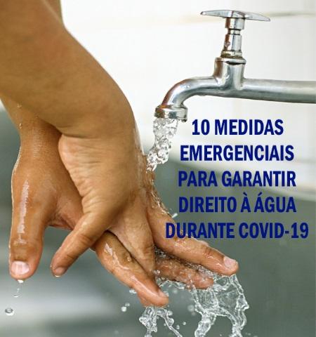 Fiocruz apoia Carta Aberta do Observatório Nacional dos Direitos à Água e ao Saneamento