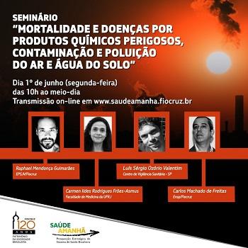 Agenda 2030: seminário discute impactos da poluição química