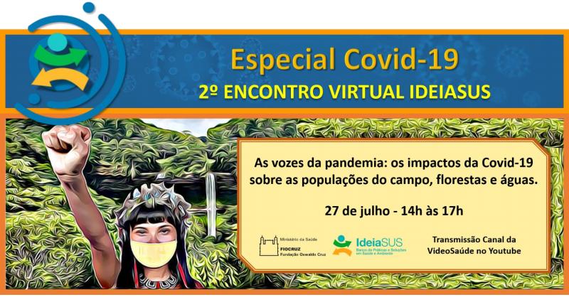 2º Encontro Virtual IdeiaSUS