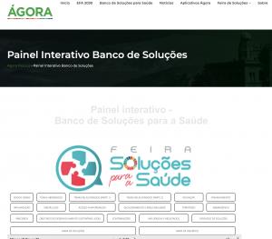 Fiocruz Brasília lança Painel Interativo – Banco de Soluções