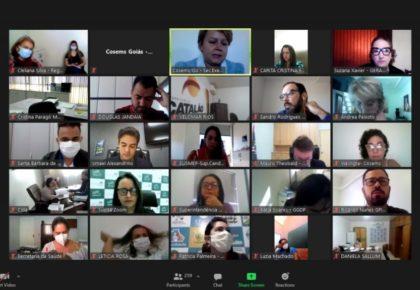 Fiocruz e Denasus apresentam projeto de pesquisa em reunião do CIB/GO